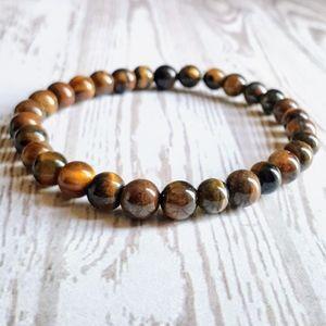 🖤3/$30🖤 Tiger's Eye Stone Bracelet